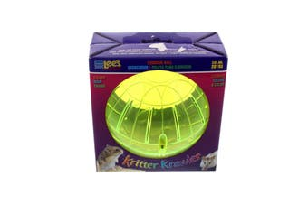 Kritter Krawler 5 Inch Lees Aquarium and Pet Shatter Resistant Plastic Vented