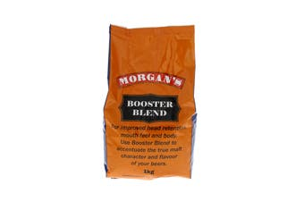 Booster Blend 1kg Improved Head Retention Mouth Feel Body Morgans Home Brew