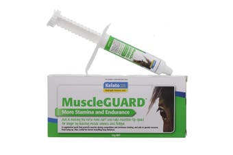 MuscleGUARD Paste for Stamina and Edurance Kelato Horse Equine 32g
