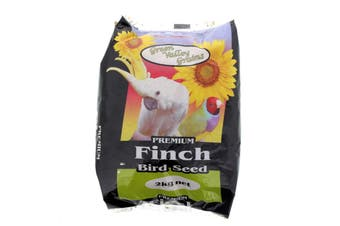 Finch Seed Mix 2kg Bird Food Green Valley Canary Pannicum Red White French Millt