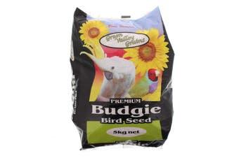 Budgie Seed Mix 5kg Bird Food Green Valley Hulled Oats Jap Millet Pannicum Oil