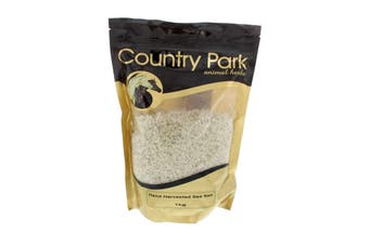 Sea Salt Essential Bulk and Trace Minerals Country Park Horse Equine 1kg Health