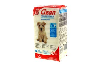 Dog Disposable Diapers Small 12 Pack Dogit Nappy Clean Hygenic Pet Secure