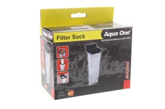 Filter Sock 37x10x10cm Suit Up To 10mm Glass Fish Tank Aquarium Aqua One 50102