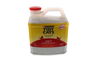 Tidy Cats Clumping Litter 24/7 Performance Purina 6.35kg Controls Odour Bacteria