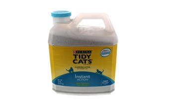 Tidy Cats Clumping Litter Instant Action Purina 6.35kg Controls Odour Bacteria