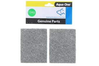 Aquarium Aqua Style Sponge 370/4/80/570 134S Black Fish Tank 25134S Aqua One
