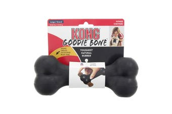 KONG Dog Extreme Goodie Bone Large 13-30kg Dogs Power Chewers Natural Rubber