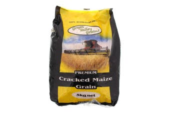 Maize Cracked Grain 5kg Bird Food Green Valley Feed Vitamins Corn Health Birds
