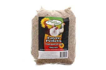Layer Pellets 5kg From Point of Lay Bird Food Green Valley