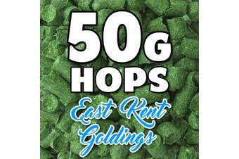 EAST KENT GOLDINGS Hop Pellets 50g Hops UK Home Brew Foil Packed For Freshness