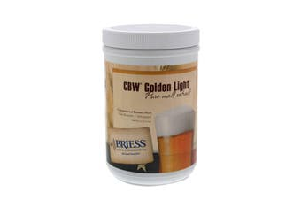 CBW Golden Light Briess Extract 1.5kg Concentrated Brewers Wort Home Brew