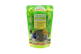 Insects In A Pellet Bearded Dragon 125g Minibeast Australian Grown And Made