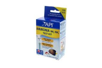 API Ammonia Test Kit NH3 NH4 Aquarium Fresh and Saltwater 130 Tests Fish Tank