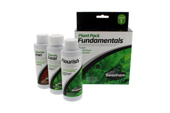Fundamental Plant Seachem 3 Pack 100ml Fish Tank Aquarium Essential Plant Health