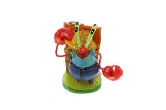 Ornament Decoration Spongebob Mr Krabs Mini Aquarium Fish Tank Nickelodeon