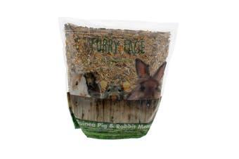 Furry Face Guinea Pig & Rabbit 1.8kg Premium Gourmet Pet Food Grains Vegetables