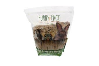 Furry Face Rat & Mouse Menu 1.8kg Premium Gourmet Pet Food Grains Seeds Nuts Etc