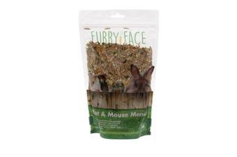 Furry Face Rat & Mouse Menu 500g Premium Gourmet Pet Food Grains Seeds Nuts Etc