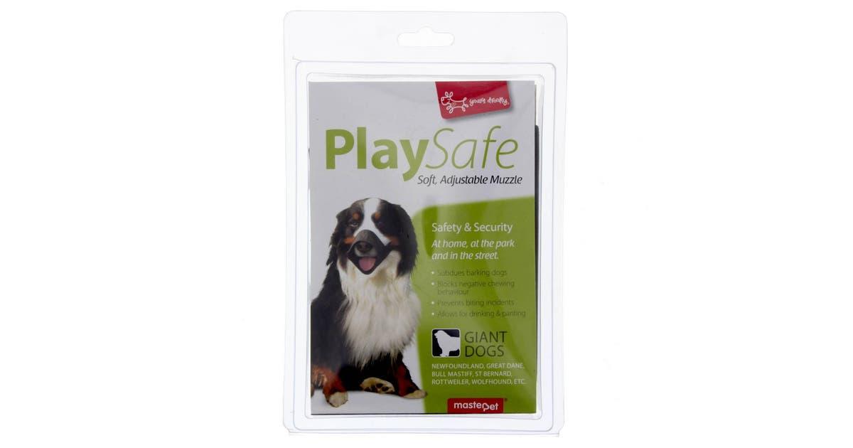 Dick Smith Muzzle Xxl Masterpet Dog Puppy Safe Soft Nylon Stretchy Stops Biting Barking Dog Supplies