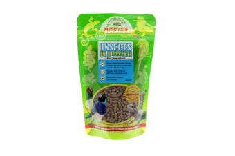 Insects In A Pellet Blue Tongue 125g Minibeasts Australian Grown And Made
