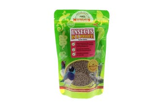 Insects In A Pellet Turtle Sticks 125g Minibeasts Australian Grown And Made