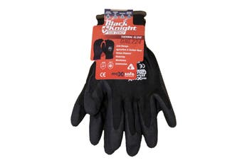 Black Knight Sub Zero Thermal Gloves X-Large Pair Safety Acrylic Wool EN511