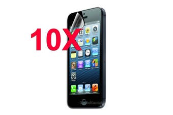 10 x Clear Screen Protector for Apple iPhone 5 5S SE 5C