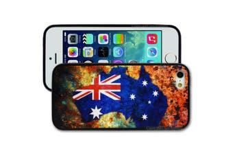 Australia Map Flag Printed Hard Back Cover for Apple iPhone 5 5S SE