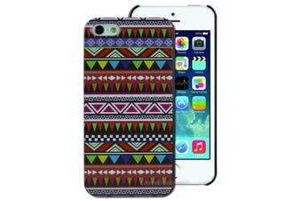 Geometric Aztec Pattern Hard Back Case for Apple iPhone 5 5S SE