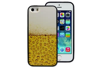 Beer Lager Printed Hard Back Cover for Apple iPhone 5 5S SE
