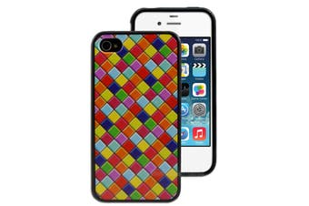 Check Printed Case for Apple iPhone 4 4S