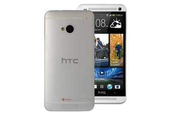 Clear Ultra Thin Frosted Matte Flexible Hard Case for HTC One M7 Plastic Cover
