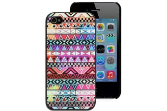Colourful Aztec Print Hard Case for iPhone 4 4S