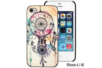 Dream Catcher Print Hard iPhone 4 4S Case