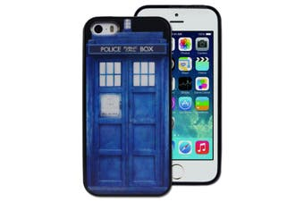 Police Public Call Box Printed Hard Back Cover for Apple iPhone 5 5S SE