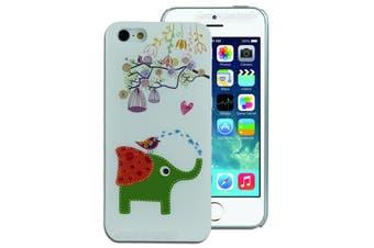Elephant Bird Back Case for Apple iPhone 5 5S SE