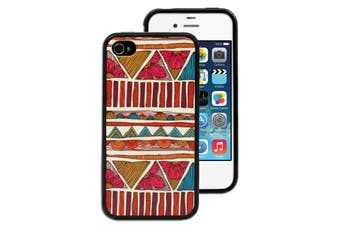 Flower Totem Printed Case for Apple iPhone 4 4S