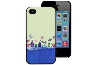 Flower Vases Hard Printed Case for iPhone 4 4S