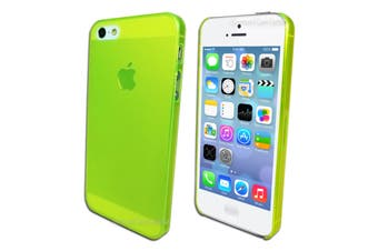 Green UltraThin Frosted Matte Hard Case for Apple iPhone 5 5S SE