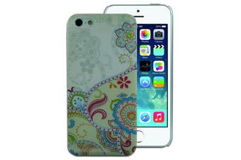 Paisley Patterned Back Cover for Apple iPhone 5 5S SE