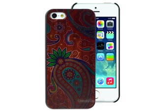 Paisley Wood Pattern Hard Back Case for Apple iPhone 5 5S SE