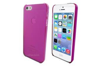 Pink Ultra Thin Frosted Matte Hard Case for Apple iPhone 5 5S SE