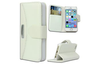 Stitched PU Leather iPhone 5 5S SE Wallet