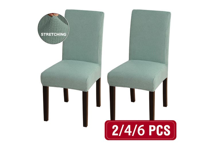 Dining Room Chair Slipcovers Super Stretch Removable Washable Dining Chair Covers 2 4 6 Pack Sage Matt Blatt