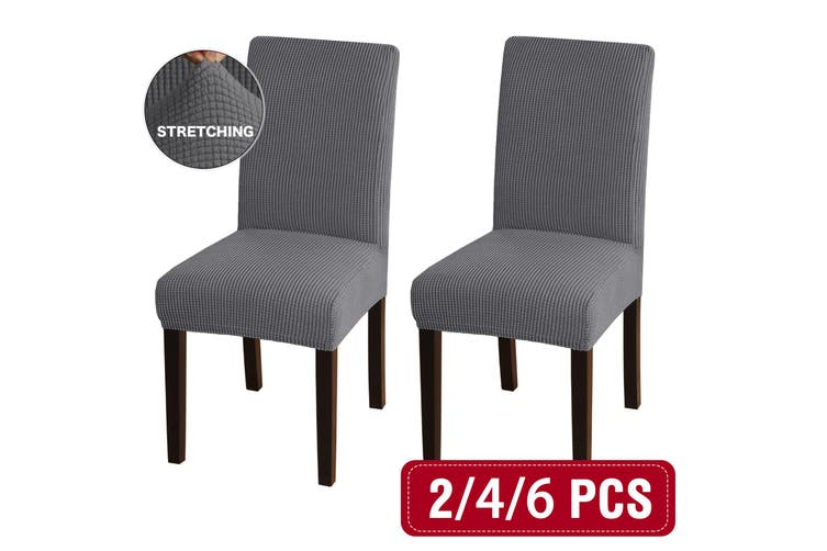 Super Stretch Dining Room Chair Covers, Dining Room Slipcovers