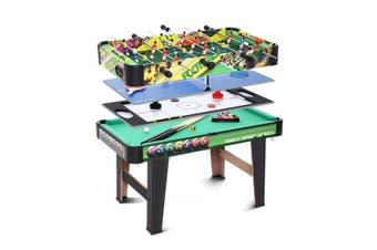 Air Hockey Pool Snooker Table Table Tennis Table Soccer Games Table 4 in 1