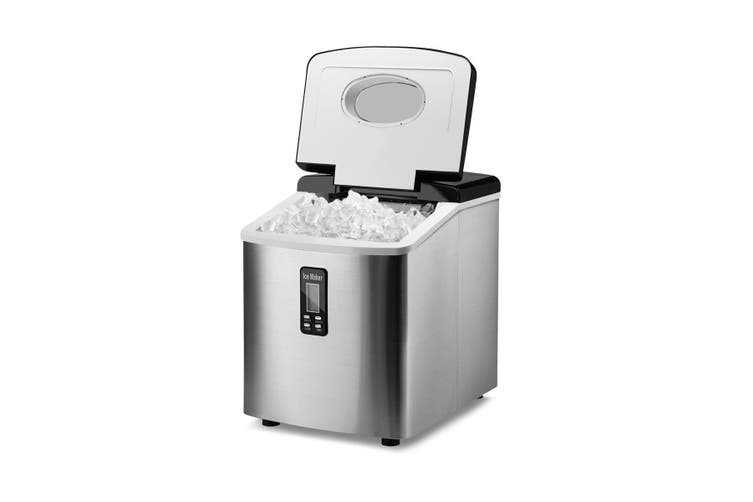 Silver Ice Maker for Home 3.2L