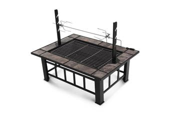 3 IN 1 BBQ Grill Table with Removable Roaster   Extra Long