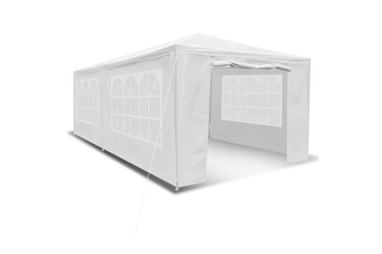 3x6m Outdoor Fully Waterproof Party Marquee Tent White